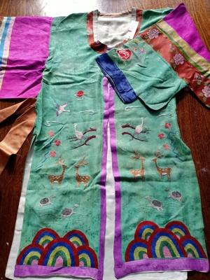 Small Korean robe ; JRT0238