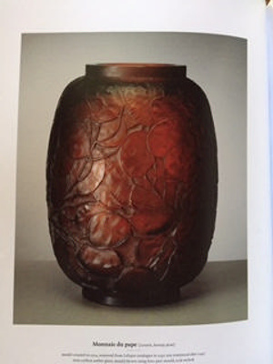 Monnaie du pape (Lunaira, honesty plant) (red/amber); Rene Lalique; JR00004.1