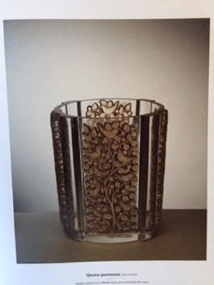 Quatre Panneaux (Four Panels) (brown); Rene Lalique; JR00099.1