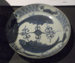 Small Ming Dynasty plate; JR00247