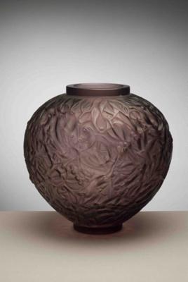 Gui (mistletoe) (mauve/purple); Rene Lalique; JR00010.4