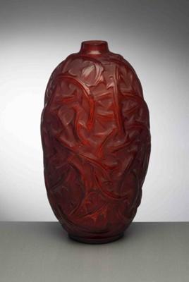 Ronces (Thorns) (Red); Rene Lalique; JR00028.2