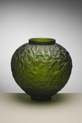 Gui (mistletoe) (green); Rene Lalique; JR00010.7