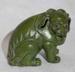 Green Lion Figure; Unknown; JR00273