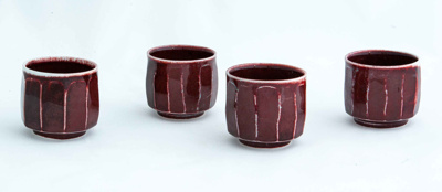 Four faceted cups; Gyutae Kim; JR00114.1