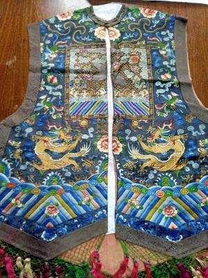 Chinese Sleeveless Waistcoat; JRT0185