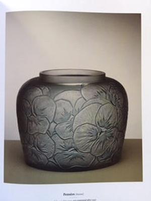 Pensees (Pansies); Rene Lalique; JR00023
