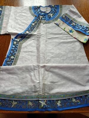 Summer short sleeved robe; JRT0192