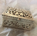 Rectangular silver box; Unknown; JR00143.5