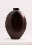 Peking Glass Vase (Amber); Alexander Lamont Studios; JR00103.8