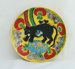 Plate with black panther ; Kristine Partelpoeg; 2013; JR00149.1