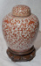 Ming Vase with wooden stand; Unknown; JR00173