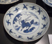 Ming Dynasty plate; JR00244