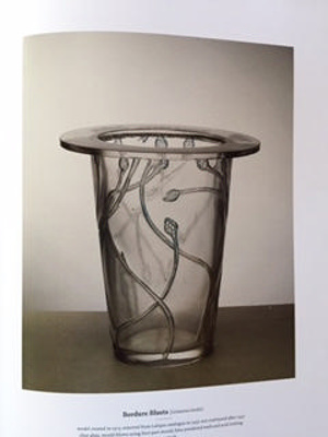 Bordure Bluets (Centaurea border); Rene Lalique; JR00017