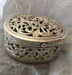 Oval silver box; Unknown; JR00143.3