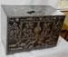 Korean lacquered chest; JR00273