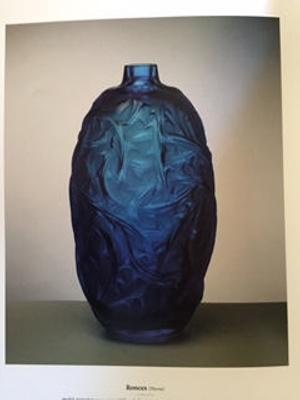 Ronces (Thorns) (Blue); Rene Lalique; JR00028.4