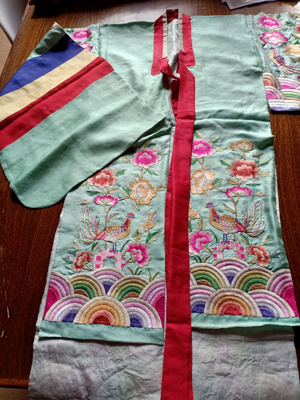Hwalot - Small Korean ceremonial robe; JRT0198