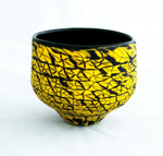 Black with Yellow Murrini; Mike Pohl; JR00102.1