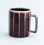 Large faceted mug with handle; Gyutae Kim; JR00114.2