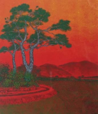 Pine Trees; Yu Kwung-hwa; 2015; JR00175.1