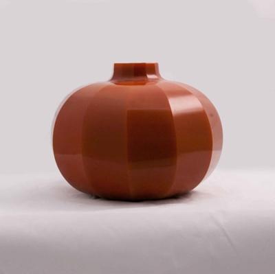 Peking Globe Vase (Orange); Alexander Lamont Studios; JR00103.7