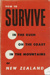 Book, How to Survive in the Bush , on the Coast, In the Mountain, of New Zealand; Flight Lieutenant B Hildreth; 1962; 2005/235/a