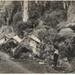 Postcard, Manganui Road Bridge Building Camp; 1910; 2001/33a