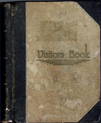 Book, Visitors Book; 1983.4