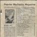 Magazine, Popular Mechanics Magazine; H.W. Windsor, Jnr.; 2002/47/F