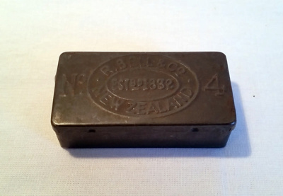 Match box, tin; R Bell & Co; 2014/7.2