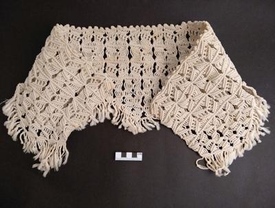 Textile, macrame; RA2018.140