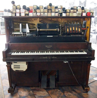 Pianola; Williams; 1902