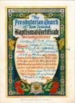 Baptismal Certificate - George Robert Kendall 1949; 1949; 2003/97.19