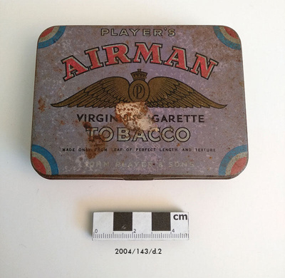 Tin, Tobacco; 2004/143/d.2