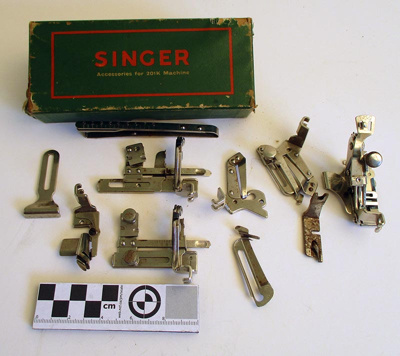 Accessories, Sewing Machine; Singer Sewing Company; 2020.004