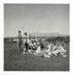 Photo, Women at picnic, Mount Taranaki in background; RAP2020.0002