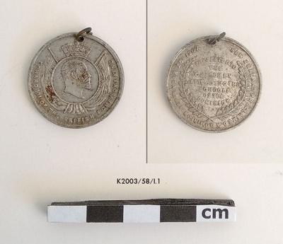 Medal, Commemorative; 1907; K2003/58/I.1