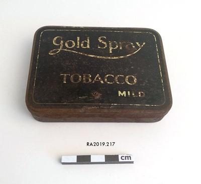 Tin, Tobacco; RA2019.217