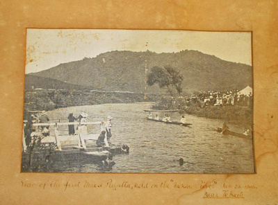 Photo, 1st Maori Regatta; S. Hewetson; 1908; P2021.0031