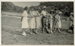 Photo, Women and one man standing at beach; RAP2020.0005