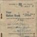 Booklet, Ration Booklet ; 1944; K2001/37/t