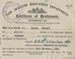 Certificate, CERTIFICATE OF PROFICIENCY, Thomas Kendall; 1922; RAA2020.0149