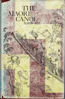 Book,The Maori Canoe; Elsdon Best; RAA2020.0064