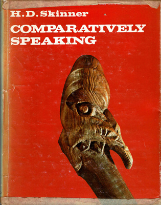 Book, Comparatively Speaking; Henry Devenish Skinner; 1974; 2010/3/37