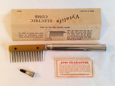 Comb, Electric; Vytalife; A-H-1999-36/1