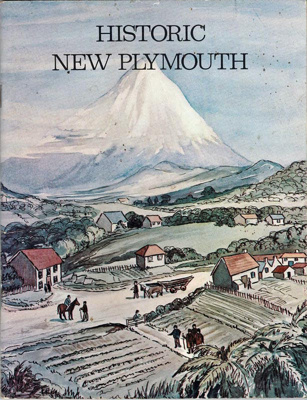 Book, Historic New Plymouth.; A.B.Scanlan; 1997-71