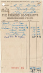The Farmers' Co-Operative Invoice for Austin A7 Car - 1967; 1967; K2001/39/7/11.2