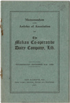 Memorandum and Articles of Association ofThe Mokau Co-Operative Dairy Company, Ltd.; 1920; 2003/97.34