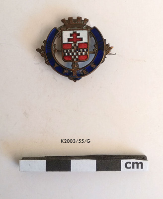 Badge, Ypres; K2003/55/G